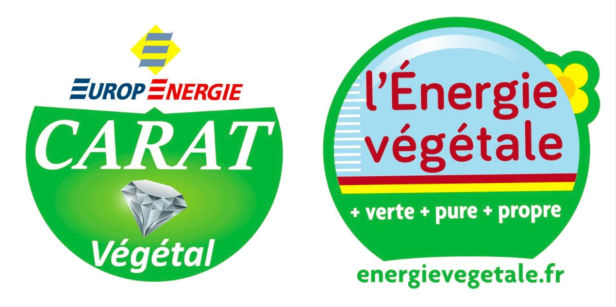 logo Carat et Energie végétal - combustible liquide de chauffage végétale remplaçant fioul