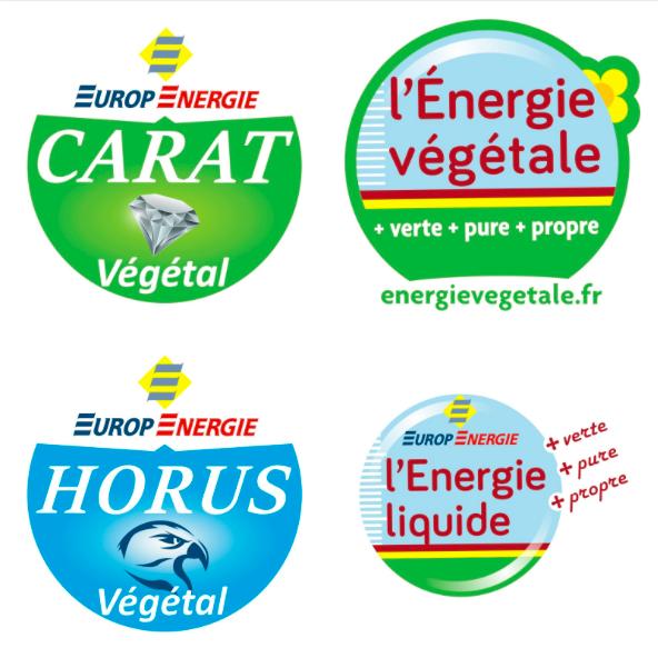 énergie végétale combustibles végétal logo carat végétal Horus vegetal énergie liquide énergie végétale pour fioul gasoil