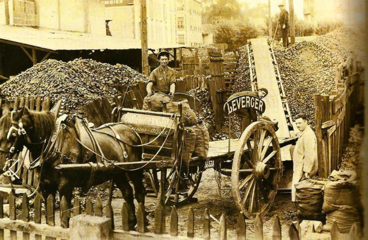 charbon Leverger combustibles 1903