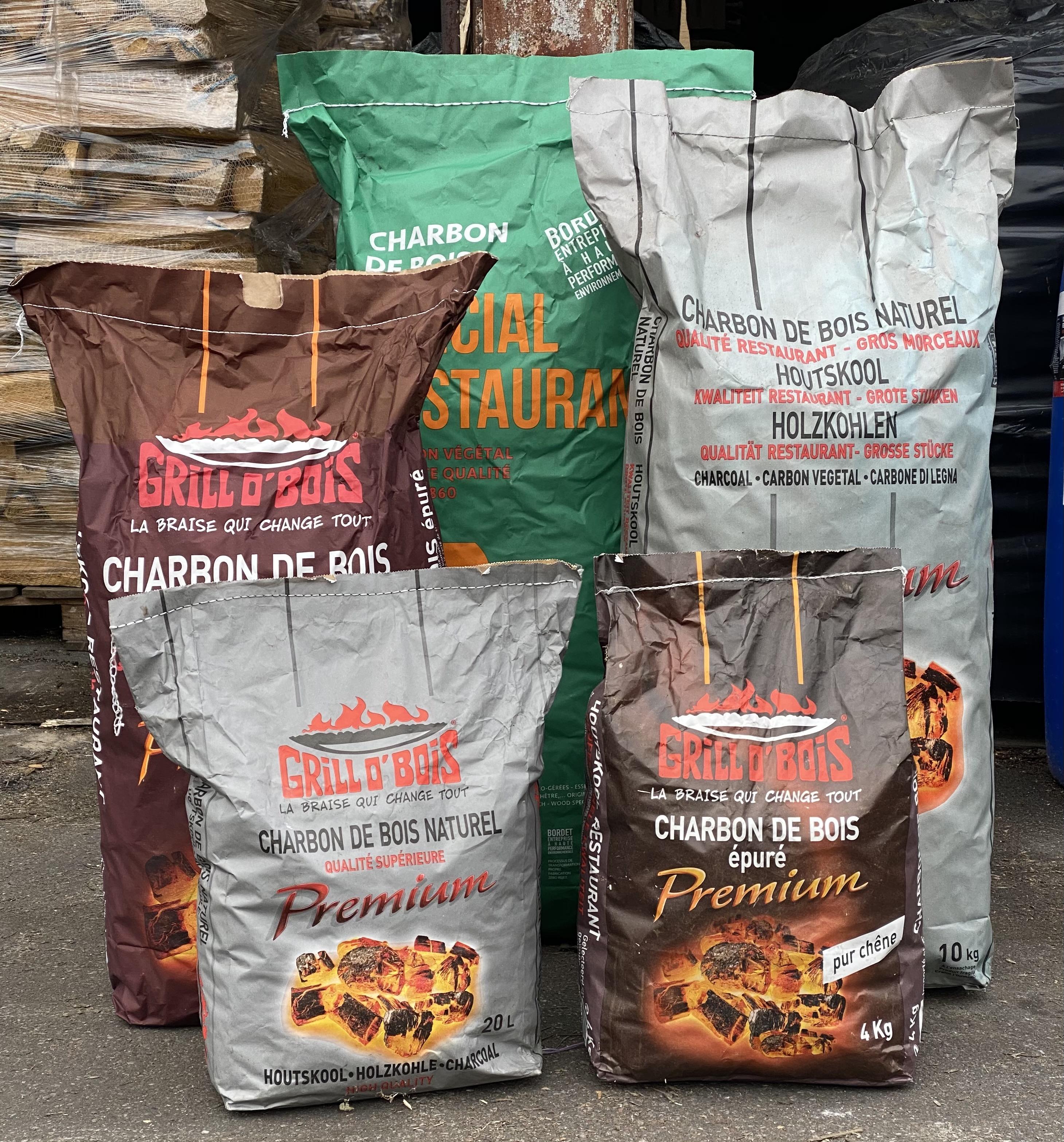 Sac charbons de bois Leverger combustibles livraison et achat charbon 77 78 91 92 93 94 95 et Paris
