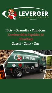 Leverger combustibles bois granulés charbons combustible liquide de chauffage fioul gasoil gonr gaz bois de chauffage livraison