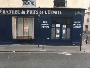 boutique à paris Leverger combustibles